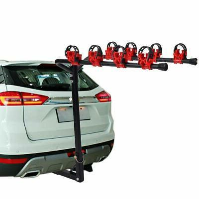 "4 Bike Rack 1-1/4""&2"" Trailer Car SUV Camping Trip"