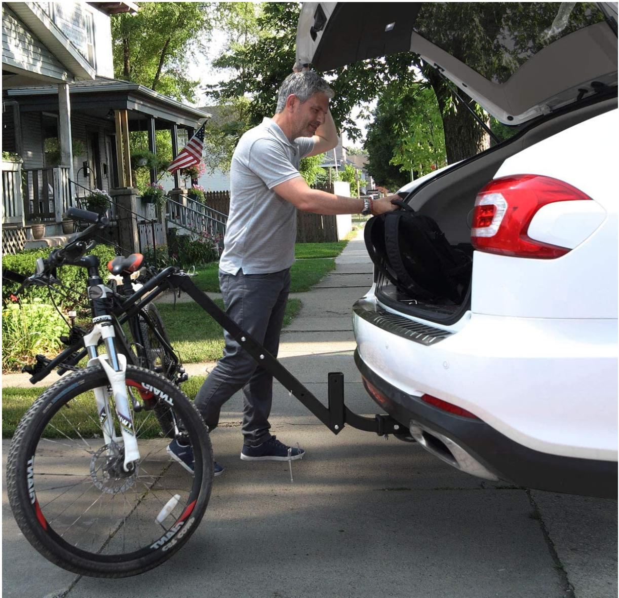 4 Mount SUV Trailer Bicycle Carrier