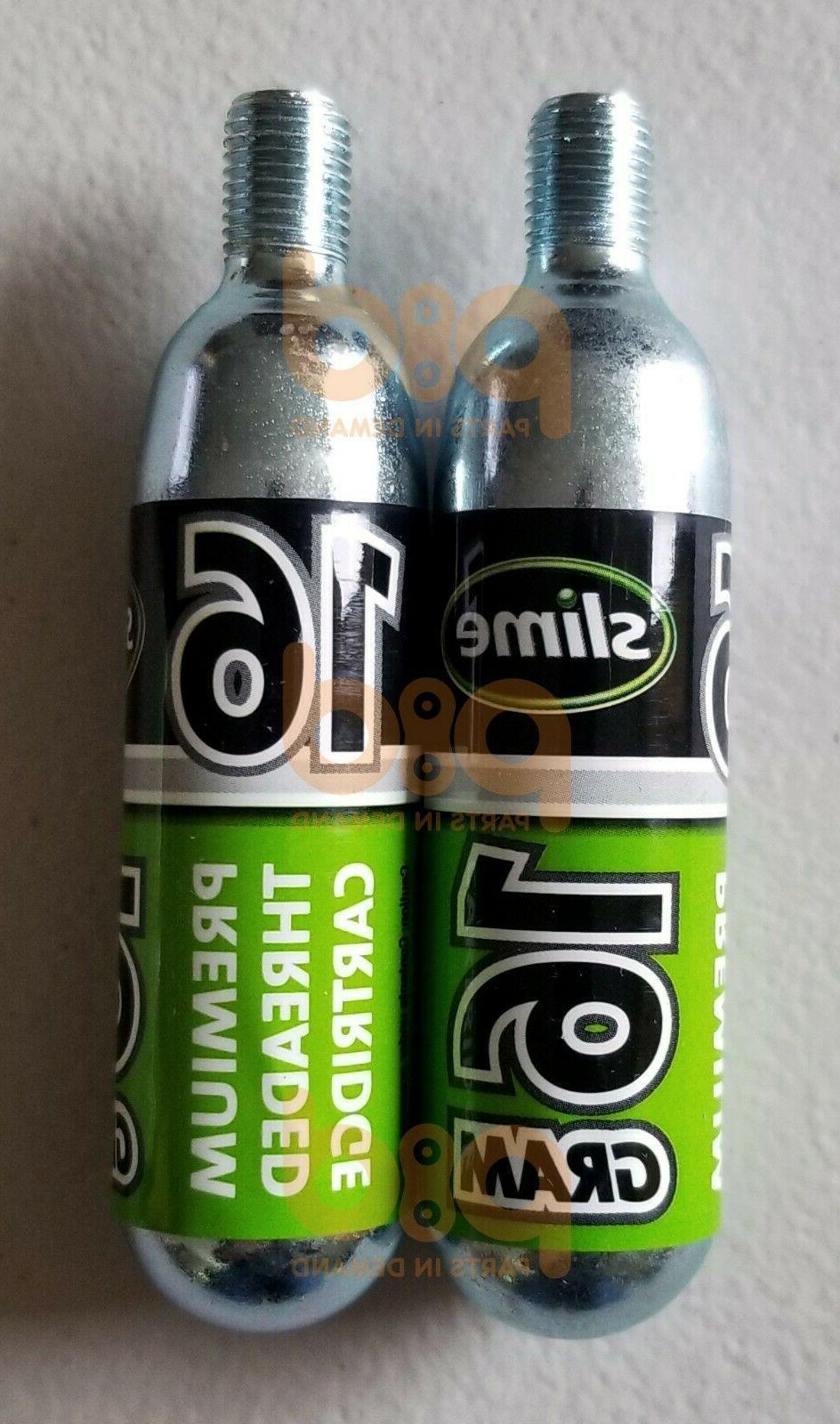 4 Slime 16g Refill Bike ATV Trailer 4 Inflators