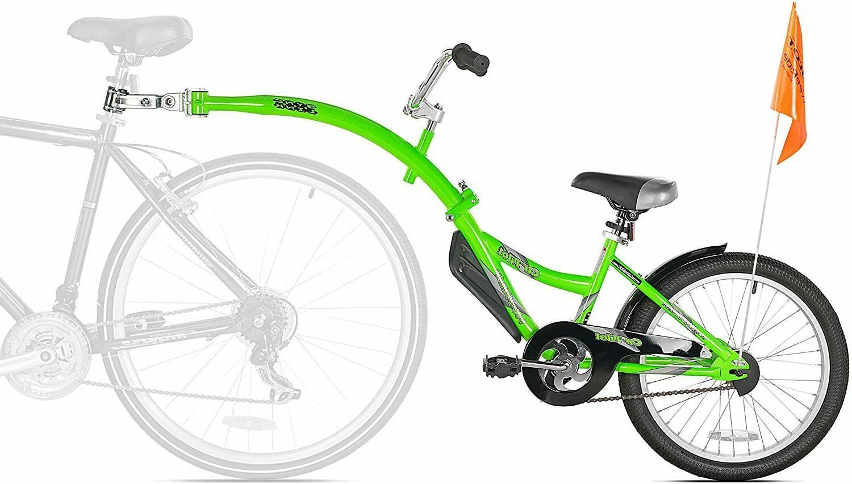 New Trailer Bike Ride Attachment Training Kid Tandem