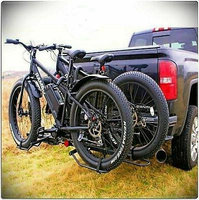Pro-Series Q-Slot Black 2-Bike Hitch Bike