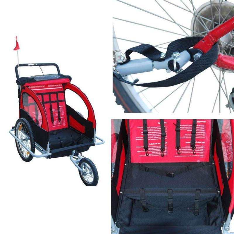 Aluminum stroller with 20 wheel, fold <font><b>bike</b></font> <font><b>kids</b></font> stroller, Tandem