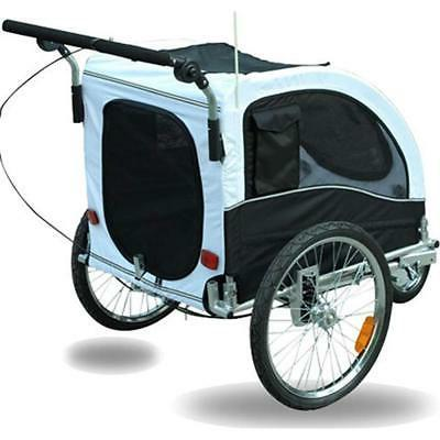 Aosom Dog Bike Bicycle Stroller White