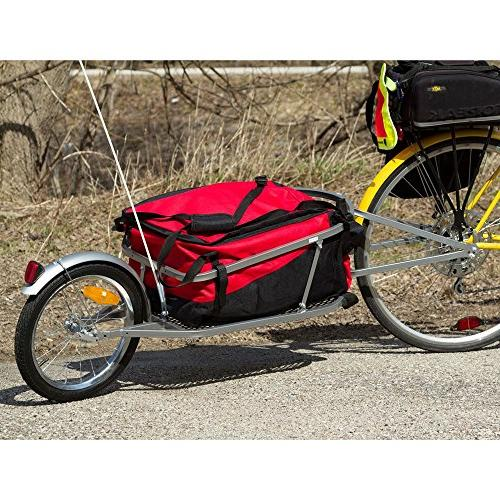 Apex Rage Single Wheel Pull-Behind Cargo with Cargo Bag