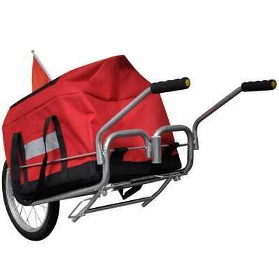 Bicycle Bike Trailer Cart Shopping Single