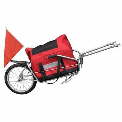 Bicycle Cargo Cart Single Wheel Trailers