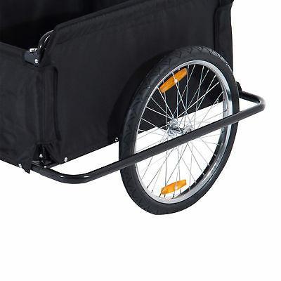 New Aosom Cargo Trailer Cart Carrier Runner Shopping