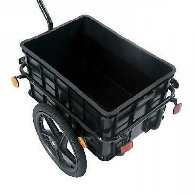 Bicycle Cargo Steel Carrier Cart Wheel