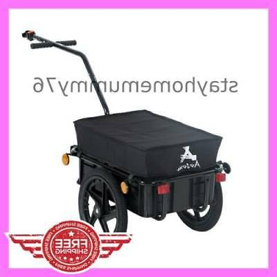 bicycle bike cargo trailer steel carrier storage