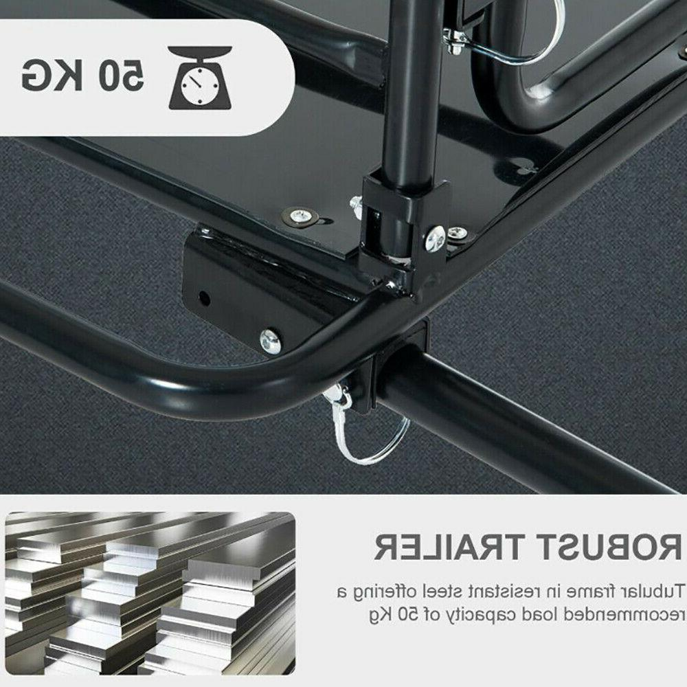 Bicycle Cargo Steel Luggage Vehicle Sporting Accessory