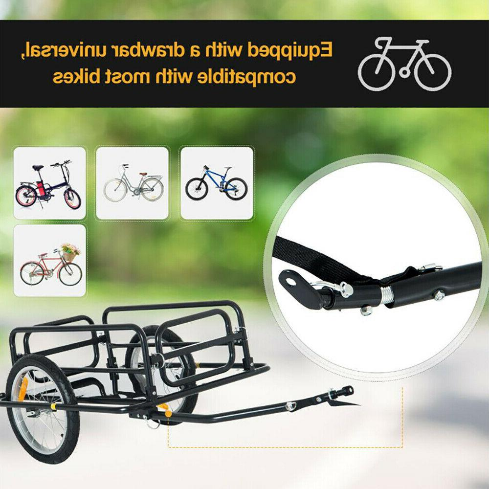 bicycle bike cargo trailer steel luggage cart