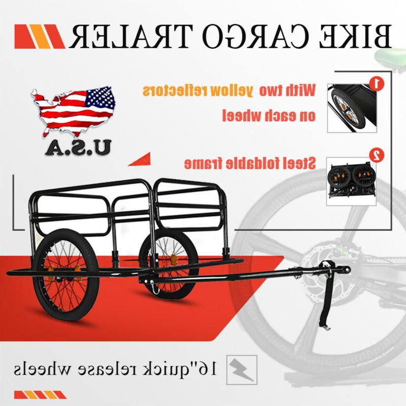 Bicycle Trailer Storage