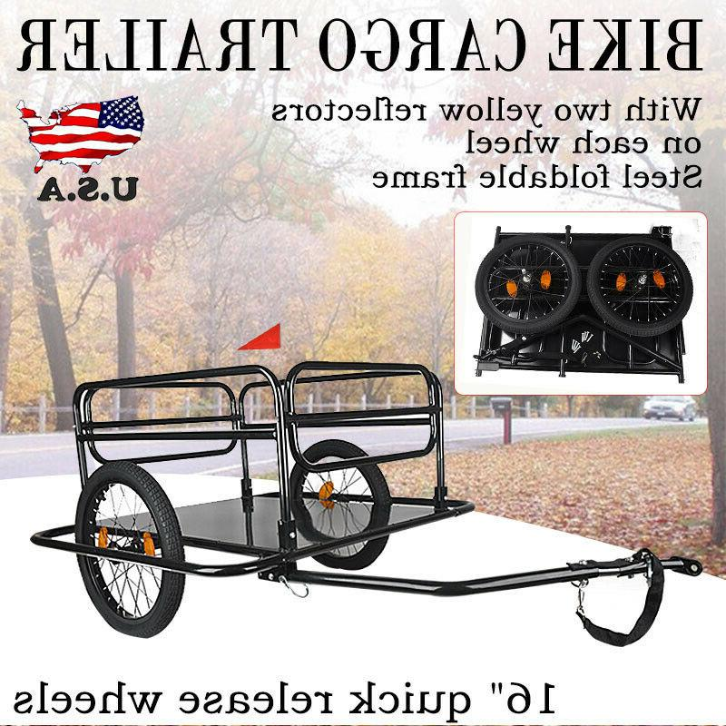 bicycle bike frame cargo trailer cart carrier