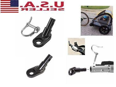 bicycle bike steel traction head trailer coupler