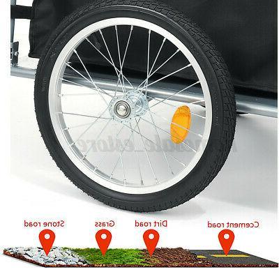 Bike Cargo Steel Storage Cart Wheel