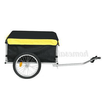 Bike Cargo Trailer Steel Cart Wheel