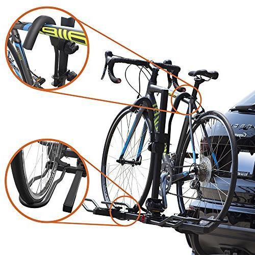 BV 2-Bike Hitch Mount Tray Smart Design