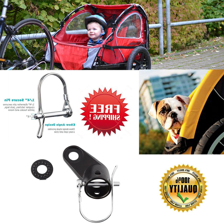bike bicycle trailer coupler attachment schwinn part