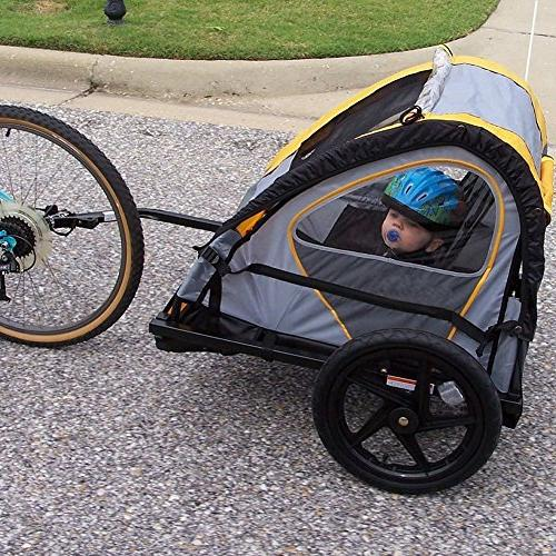 Titanker 2-Pack Trailer Attachment Angled Elbow Schwinn Bike