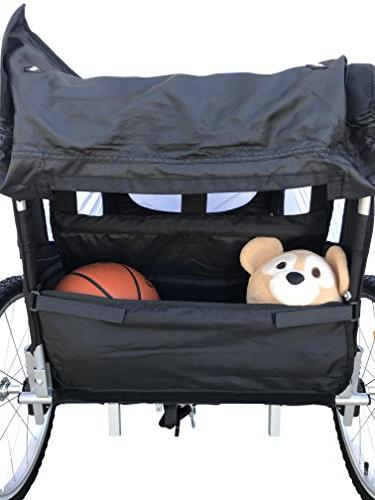 Booyah Child Bike Bicycle Trailer Stroller