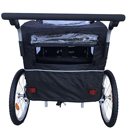 Booyah Bike Bicycle Trailer Stroller II