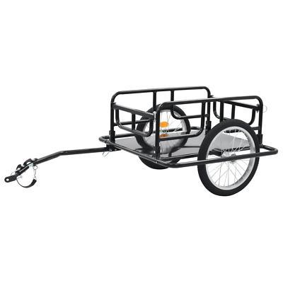 bike cargo trailer 51 2 steel black