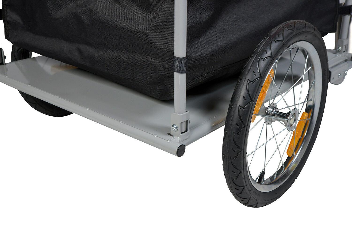 Bike Cargo Trailer Carrier Cart Luggage Transport Wagon