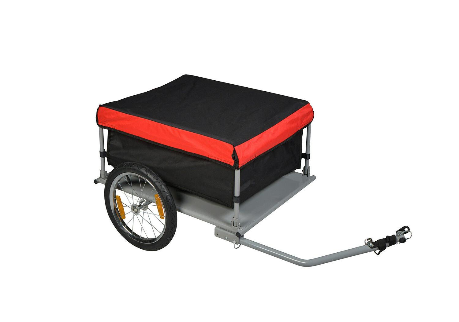 bike cargo trailer bicycle carrier cart shopping
