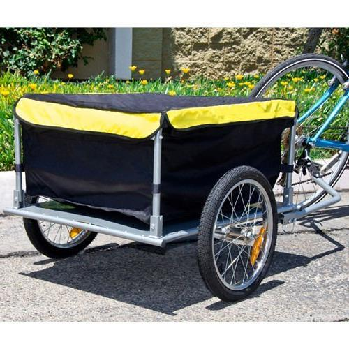 Bike With Cover Cart Carrier Tow