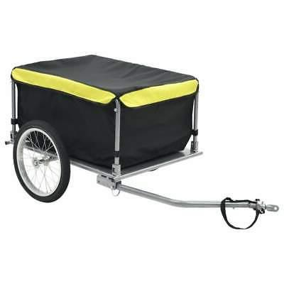 bike cargo trailer black and yellow 143