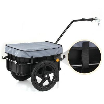 Bike Cargo Trailer Hand Wagon Trailer Cart Carrier
