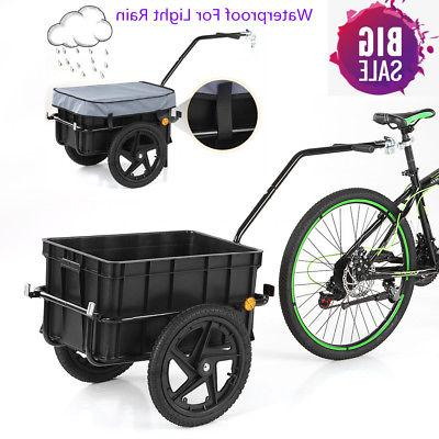 bike cargo trailer hand wagon bicycle luggage