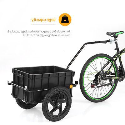 Trailer Cart Carrier w/ Removable Box US STOCK