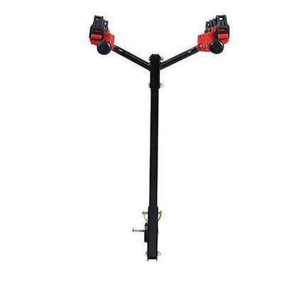 "Bike Carrier Portable Bicycle Rack 1-1/4""&2"" Car SUV Red&Black"