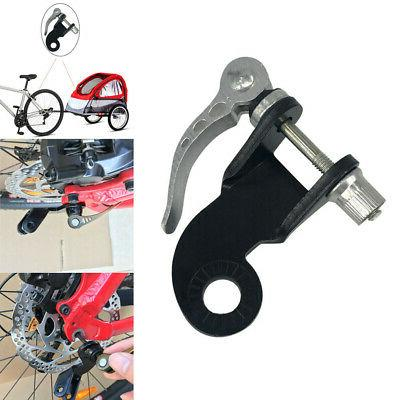 bicycle bike steel trailer coupler attachment angled