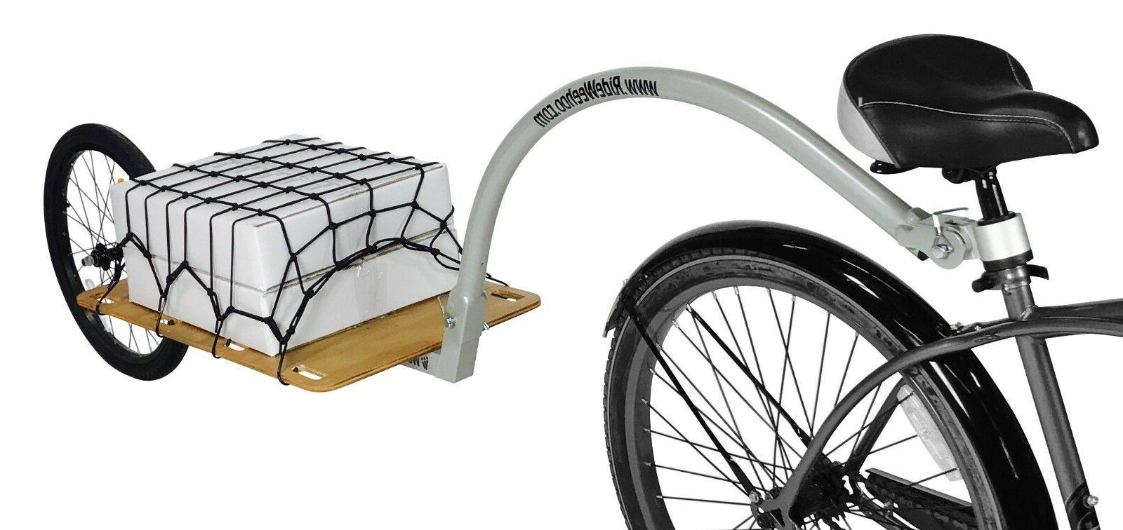 cargo bike trailer bicycle trailer cargo trailer