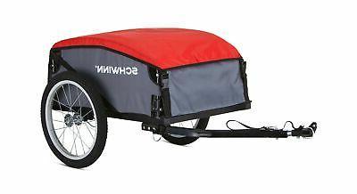 cargo bike trailer black bicycle