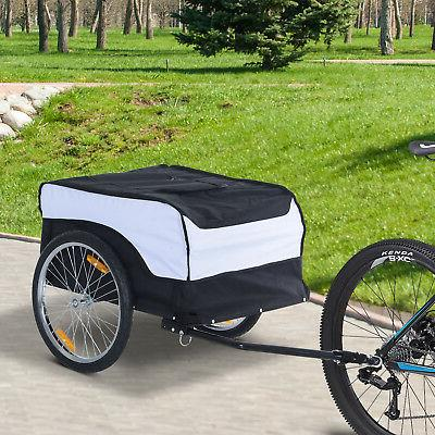 cargo bike trailer luggage carrier cart foldable