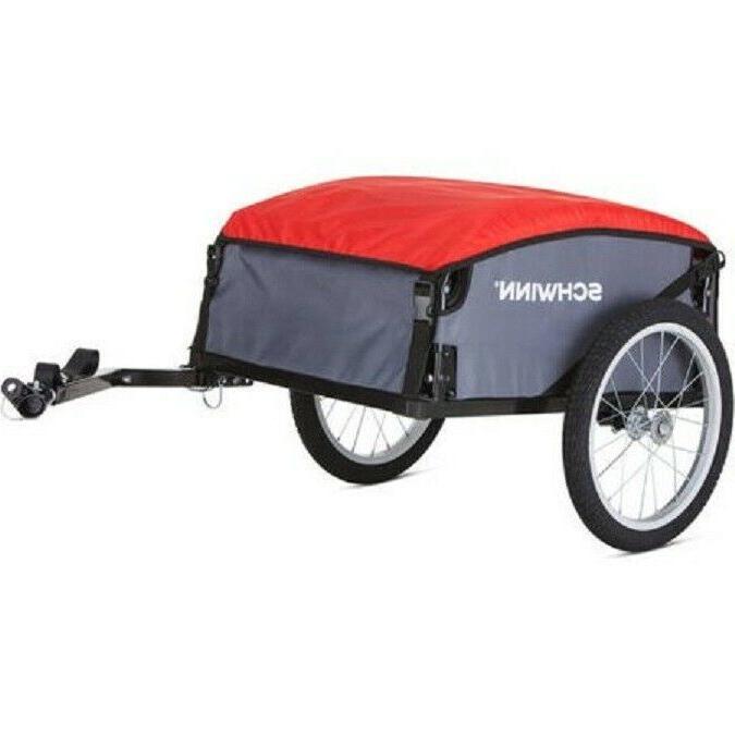 Schwinn Cargo Gray/Red Storage Carrier Transport Bicycle