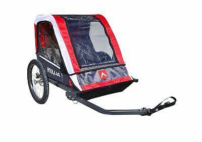 deluxe 2 steel bicycle trailer