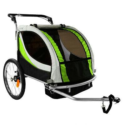 ClevrPlus 3-in-1 Double Seat Stroller Jogger for
