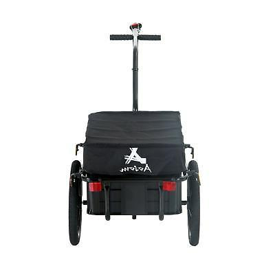 double wheel internal frame enclosed bicycle cargo