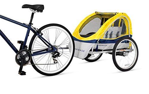 Schwinn Echo Kids/Child Tow Bicycle 20 inch foldable,