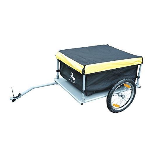 Aosom Cargo / Luggage - Yellow / Black