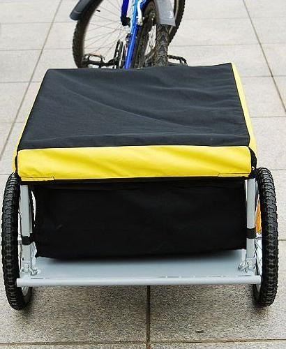 Aosom Cargo / Luggage Trailer Yellow /