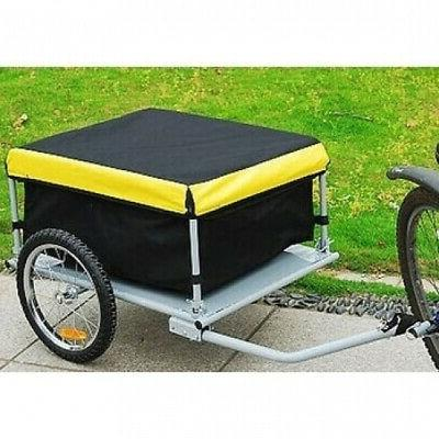 elite bike cargo luggage trailer