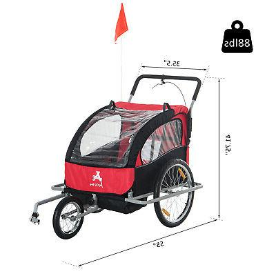 Elite Trailer Stroller Bicycle