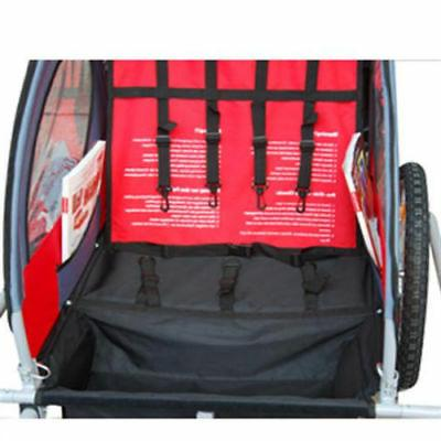Elite Baby Trailer - Bicycle Red