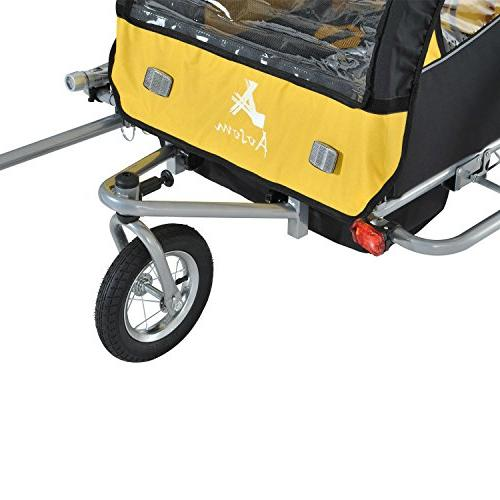Elite II 2 1 Baby Trailer, Yellow