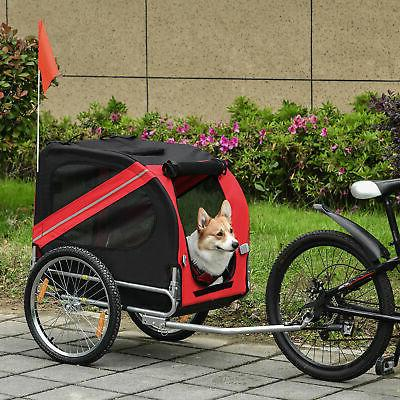 elite pet bike carrier trailer